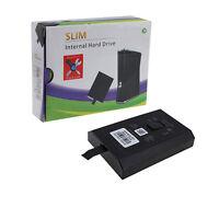 Xbox 360 Slim 250gb Hard Drive Internal Disc Microsoft Xbox360 Hdd S Hard Disk
