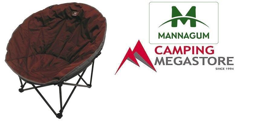 Mannagum Shell campamento COWRIE silla XL   más vendido