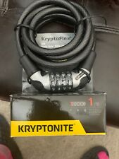 KRYPTONITE KRYPTOFLEX 1218 RESETTABLE COMBO COMBINATION BIKE BICYCLE CABLE LOCK