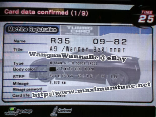 Wangan Maximum Tune 3DX+ ~ GT-R R35 SpecV ~ 825HP - A9 - *fixed name*
