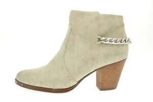 99d34965434d1 Women s Beige Leather Circus By Sam Edelman  JANNA  Ankle Boots Size ...