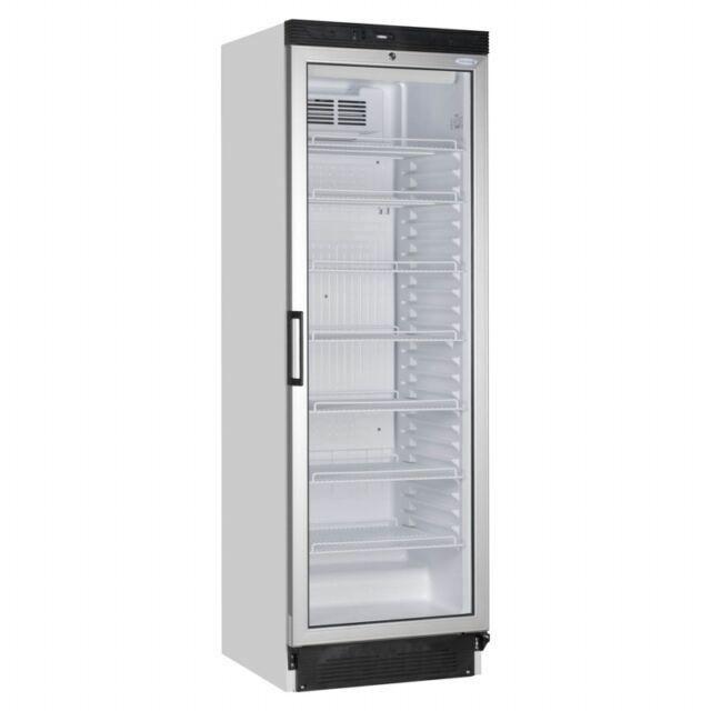 Tefcold Fs1380 Single Glass Door Fridge Food Drink Bottle Cooler