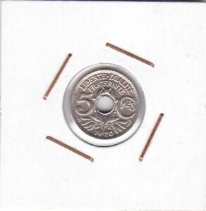 France-5-Centimes-1920-Lindauer-UNC-PETIT-MODULE-2-grams-17-mm