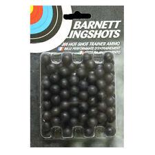 Barnett PRACTICE AMMO 100 BB Black Widow Cobra Diablo Catapult Ball Bearing .44