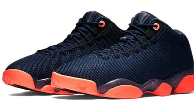 Size 12 Nike Air Jordan Horizon 845098-406 Low Shoes Obsidian Infrared 845098-406 Horizon Men's 0b6864