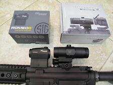 SIG SAUER Romeo 5 RED DOT SCOPE + Vortex Magnifier 2 MOA + Free Goodie!