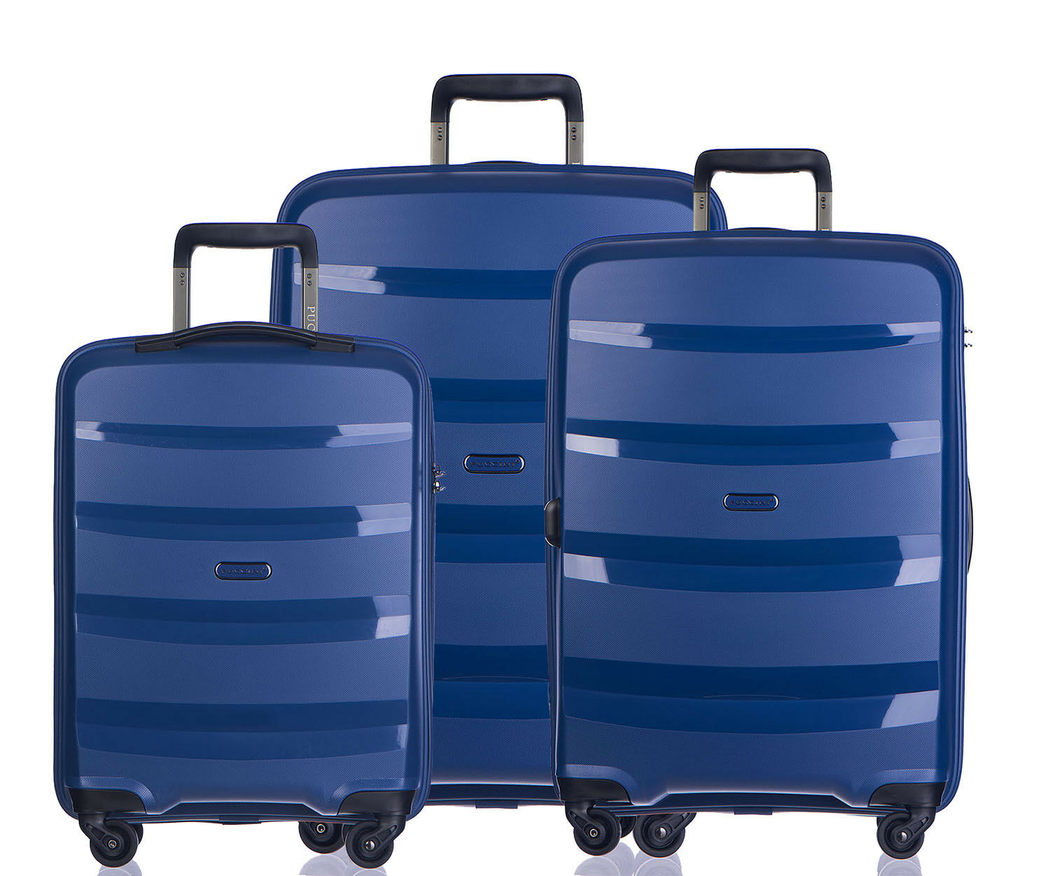 Valise de Voyage Voyage Voyage valise coque rigide Trolley Puccini ® Acapulco 3 Tailles 7 Couleurs 1514bf