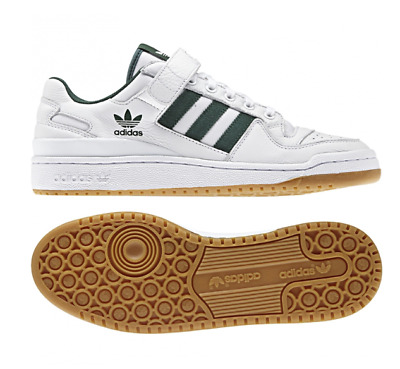 Adidas Men Women Forum Lo Athletic Shoes Sneakers White Green AQ1261 Sz 4 12 | eBay