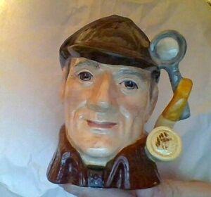 "1972 Royal Doulton made in England Jug / Mug "" The SLEUTH "" Detective D6635"