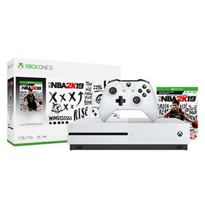 Xbox-One-S-1TB-NBA-2K19-Bundle-Digital-download-of-NBA-2K19-included-White