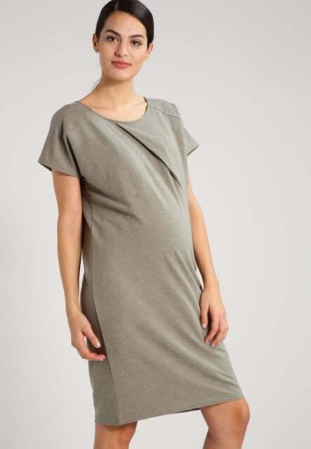 b4e20ba563c2f Mamalicious Maternity Jersey Dress Green rrp £28 Size UK M DH077 NN 07