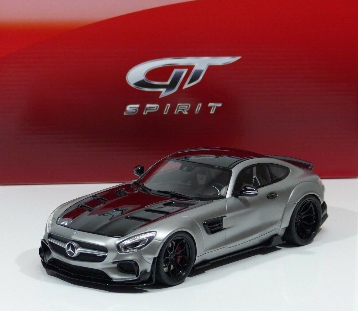 Mercedes-Benz AMG GT modified by prior diseño satén de argento gt723 GT Spirit 1 18