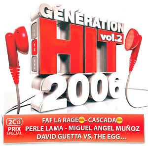Compilation 2xCD Génération Hit 2006 Vol.2 - France (EX+/EX+)