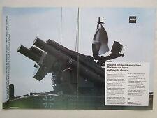 10/1984 PUB MBB ROLAND ANTI-AIRCRAFT DEFENSE SYSTEM EUROMISSILE ORIGINAL AD
