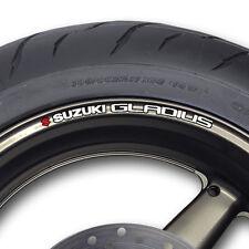 Suzuki Gladius Rueda Llanta Stickers Calcomanías Sfv650 SFV 650