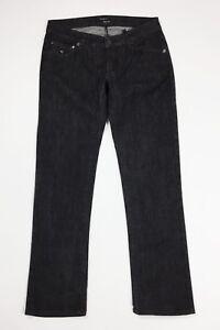 Energie-gold-jeans-uomo-usato-W34-tg-48-slim-denim-nero-stretch-boyfriend-T4374