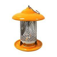 Heath Outdoor Products 20144 Bird Stop Ceramic Feeder Orange Free Shipping