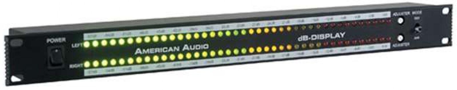American Audio DB Display 19-Inch Decibel LED