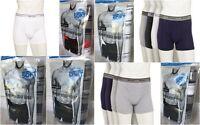 Burlington Men's Comfort Power 100% Pima Cotton Premium Boxer Briefs, 4 Pack
