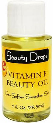 Vitamin E Sensitive Skin Lotion/Oil  Moisturizer, Beauty Drops   2800 IU (1 oz.)