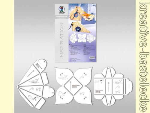 Präsentboxen und Geschenkverpackungen 3-teilig URSUS Schablonen Set Design 4