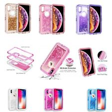 Shockproof Armor Glitter Quicksand Glitter Liquid Case For iPhone XS MAX/ XR /XS