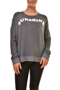 Bcf89 Sunshine Rrp Sweater Women's 840849186813 Pullover Cross 201 New L Grå Sundry Back fqInpPpY