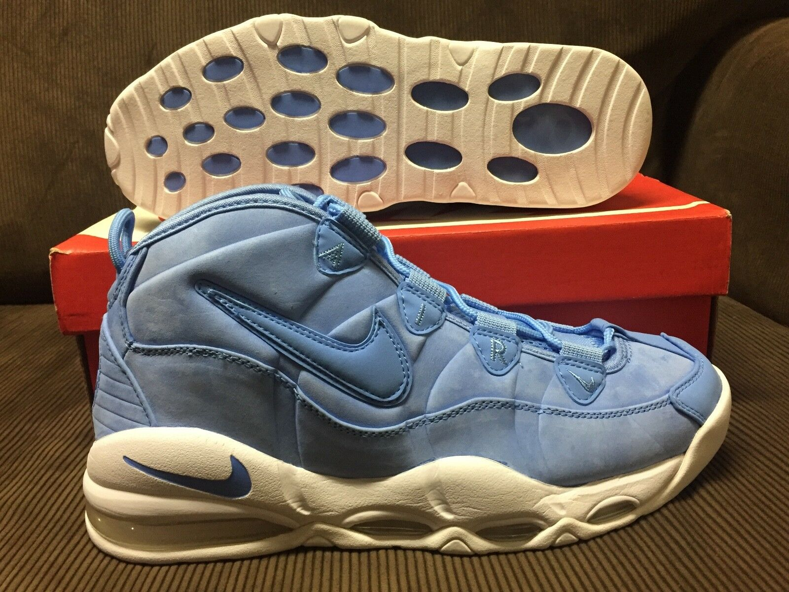DS NIKE AIR MAX UPTEMPO 95 PIPPEN NBA CAROLINA UNIVERSITY BLUE/WHITE/ Price reduction best-selling model of the brand