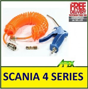 AIR-BLOW-DUSTER-inc-Recoil-Hose-for-Lorry-HGV-LGV-Truck-SCANIA-4-SERIES-Specific