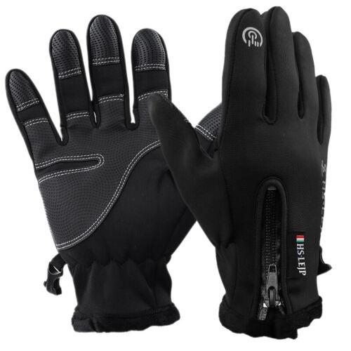 Winter Warm Gloves Touch Screen Outdoor Driving Windproof Waterproof Men Women B