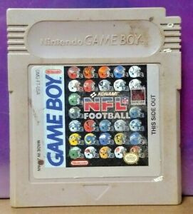 Konami-NFL-Football-Nintendo-Game-Boy-Color-GB-Rare-TESTED-GBA-Advance-GBC
