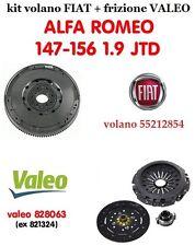 Kit volano e frizione ALFA ROMEO 147-156 1900 JTD (VALEO 836016 + 828063)