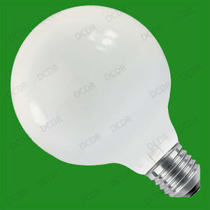 6x 100W Opal G95 Decor Globe Dimmable Light Bulbs 95mm ES ...