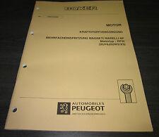 Werkstatthandbuch Peugeot Boxer Motor Magnetti Marelli 8P RFW Einspritzung 1994!