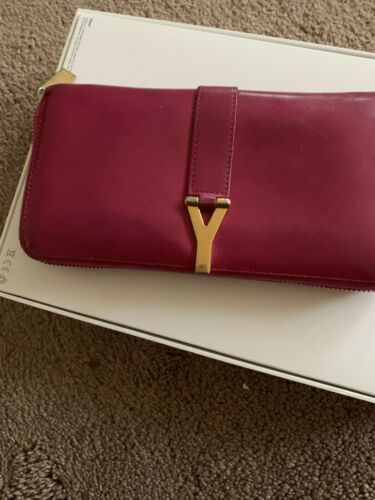HOT PINK YSL Wallet