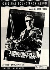 24/8/91 Pgn51 Advert: terminator 2. Judgement Day The Soundtrack Album 7x5