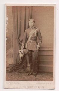 Vintage-CDV-Edward-Prince-of-Wales-King-Edward-VII-Maayall-Photo