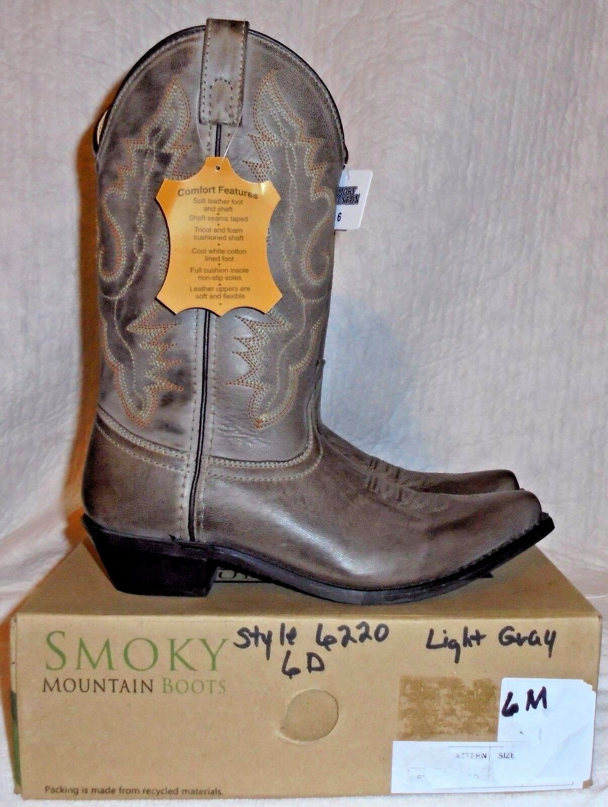 Smoky Mountain, Mesdames ((Nouveau))  6220  - Piper Cuir Western bottes, Taille 6 m