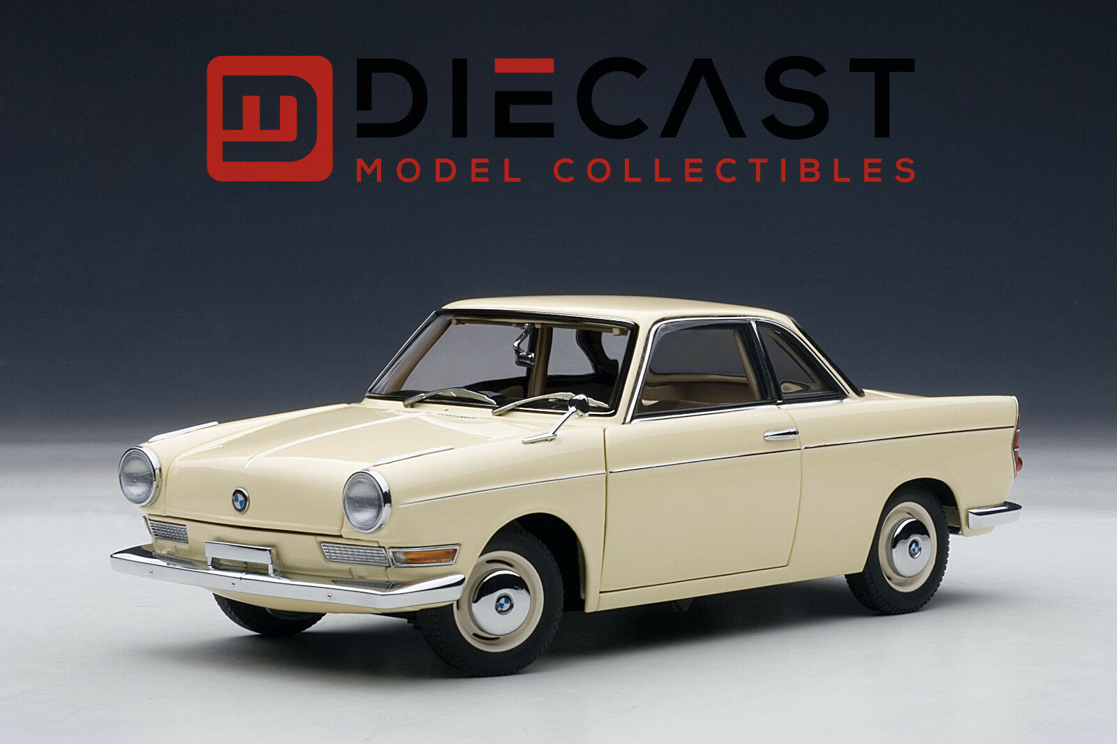 AUTOART 70651 BMW 700 SPORT COUPE, CREAMBEIGE 1 18TH SCALE