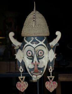 Hudoq-Dayak-Mask-Kalimantan-Borneo-Indonesia-Hudog-white