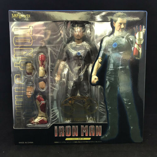 Action- & Spielfiguren Figuarts Iron Man Tony Stark with Power Stage Action Figure Collectibles S.H