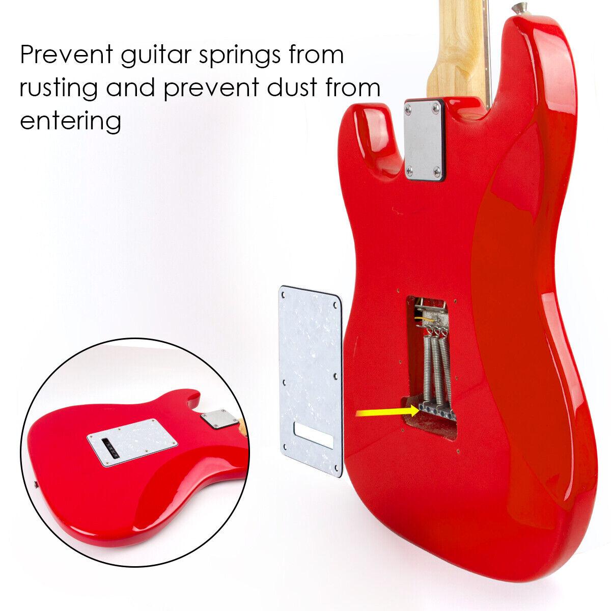 Pickguard Tremolo Cavity Cover Backplate 3Ply für E-GitarrRSPF