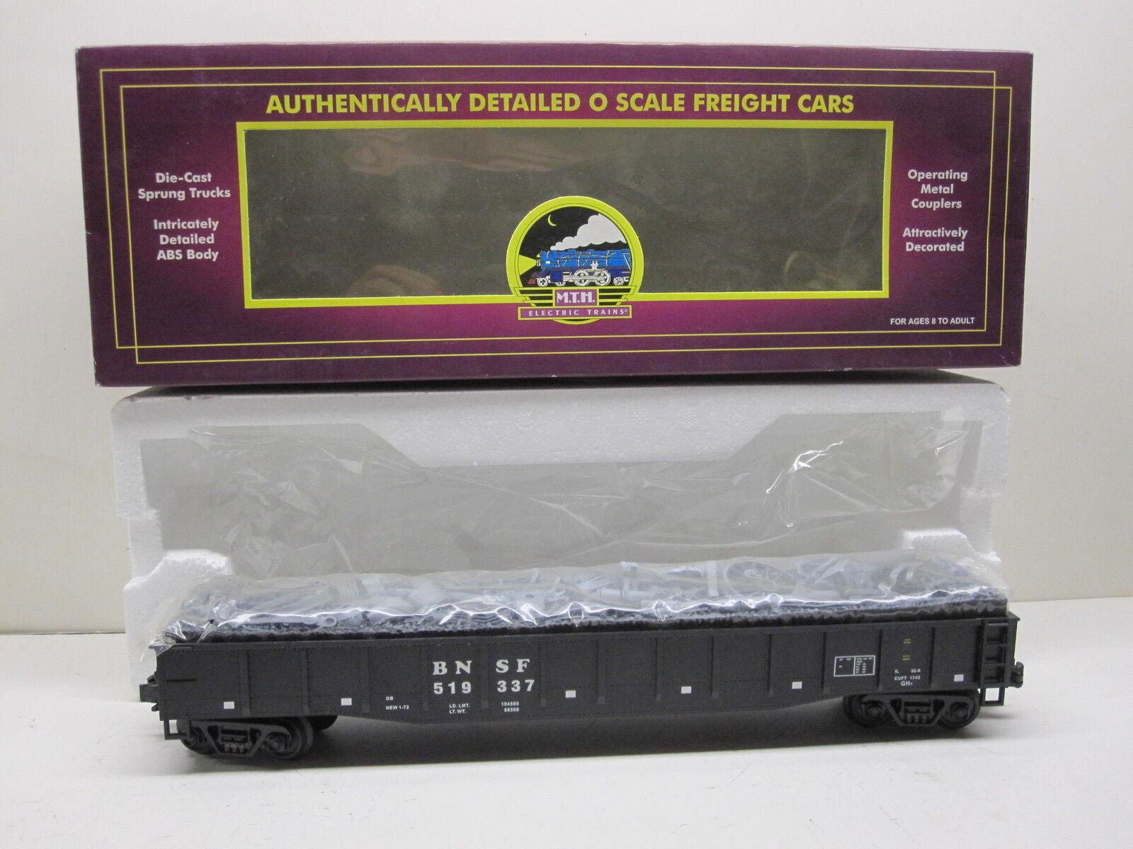 MTH 20-90010D BNSF GONDOLA WITH JUNK LOAD AND ORIGINAL BOX