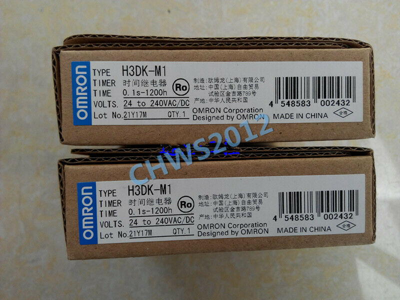 1 PCS NEW IN BOX Omron Solid State Timer H3DK-M1