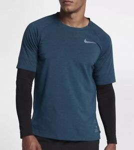 f19772f81bcc Nike Run Division Men s Long-Sleeve Running Top 912922-451 Blue ...