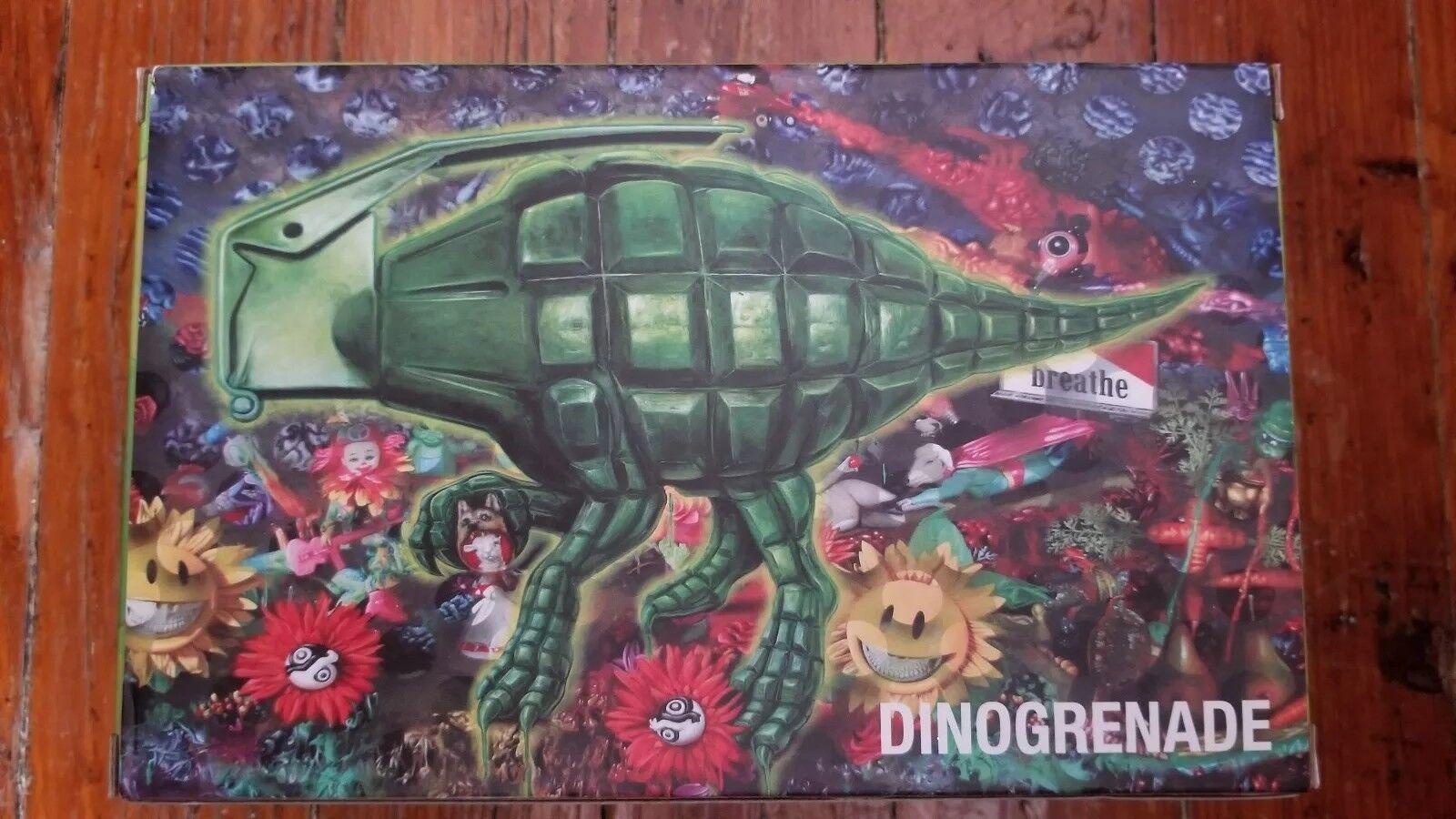 DINOGRENADE POPAGANDA designer RON ENGLISH subversive VINYL toy figure NIB