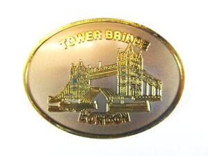 London Tower Bridge Fridge Magnet Medal Souvenir, United Kingdom