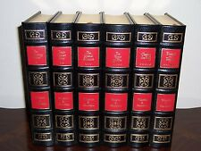 Easton Press THE SECOND WORLD WAR WWII 6 vols by Winston S Churchill