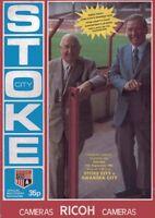 Stoke City v Swansea Official Programme - 11th September 1982