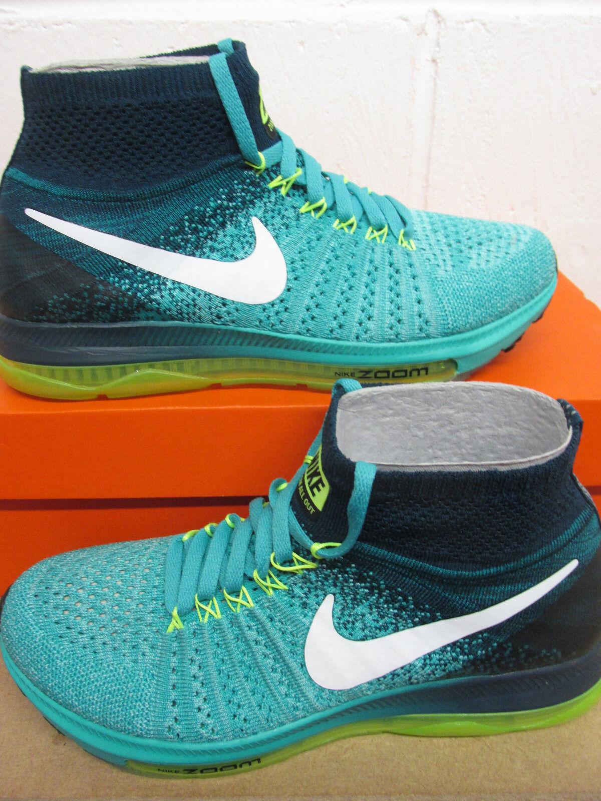 Nike Damen Zoom Alle Draußen Flyknit Laufschuhe Laufschuhe Flyknit 845361 313 Turnschuhe ef9a31